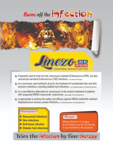 Linezo Infusion at Rs 395 milliliter
