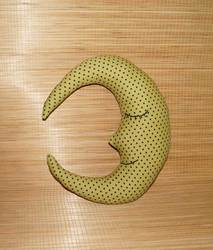 Moon Shaped Cushion