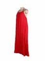 Ladies Long Halter Dress