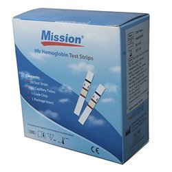Mission Hb Hemoglobin Testing Strip