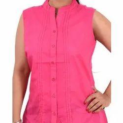 Pink Plain Top