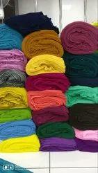 Plain Dyed Saree Fabric