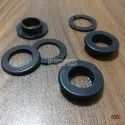 No. 28 Plastic Eyelets & Washers Black
