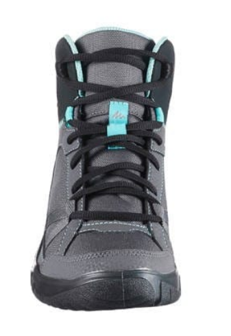 89be11a7b00f Grey Blue Women Nh100 Mid S Nature Hiking Boots