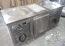 Ice Cream Rolls Machine