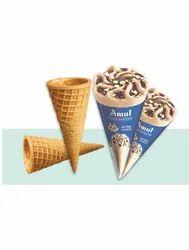 Chocolate Kaira 3mm Ice Cream Cones, Packaging Type: Carton Box