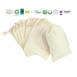 Natural Recycle Organic Cotton Muslin Bag
