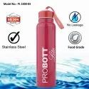 Probott Lite Stainless Steel Single Wall Saliva Water Bottle 1000ml PL 1000-03