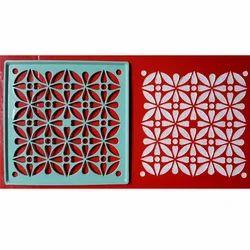 Circle Rangoli Design