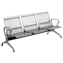 MBTC Stainless Steel Waiting Area Chair