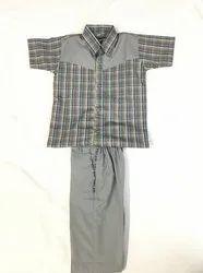 Shyamjee Summer Polyester Boys School Uniform, Size: 22 To 42