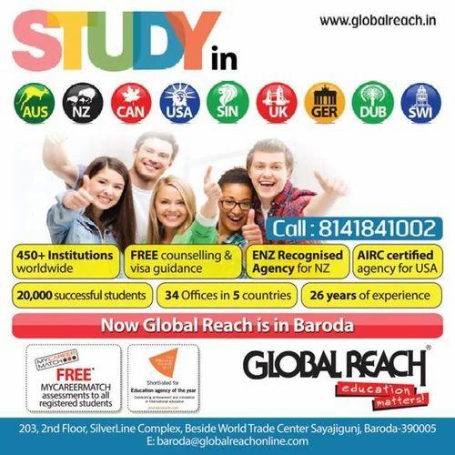 Study in Australia, New Zealand, USA, Canada, U K, Germany