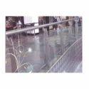 Stainless Steel & Glass Panel Designer Ss Railing