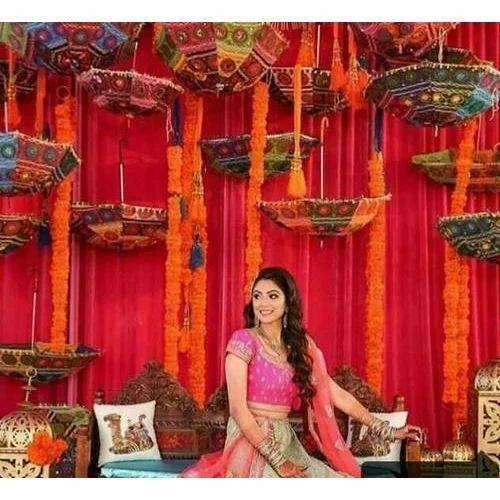 Umbrella wedding decoration in meerut ajrara by naushad ali id umbrella wedding decoration junglespirit Image collections