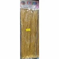Brass Gold Plated Neck Chains, Packaging Type: Box