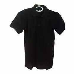 Plain Black Polo T Shirts