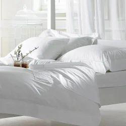Hotel Bedsheet Plain Satin Weave