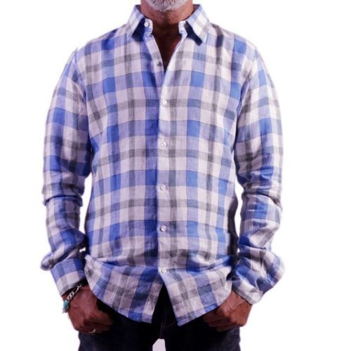 Men Semi Casual Check Shirt