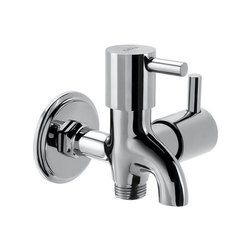 Brass Cera Garnet Quarter Turn Fittings Wall Mixer