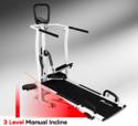 MFT-410 Powermax 4 in 1 MultiFunction Manual Treadmill