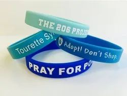 Printed Silicone Wrist Bands