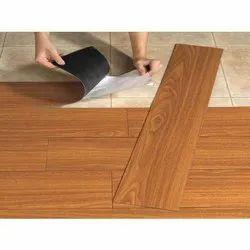 Vinly 8mm Vinyl Brown Flooring, For Office