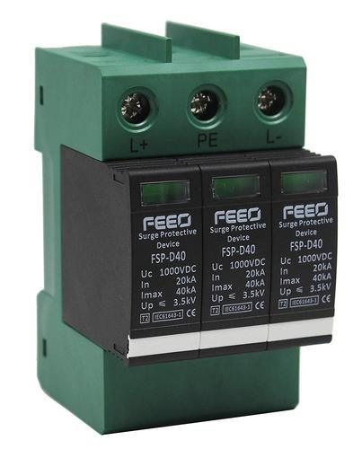 FEEO 1000V DC Class II Surge Protection Device SPD for Solar Application