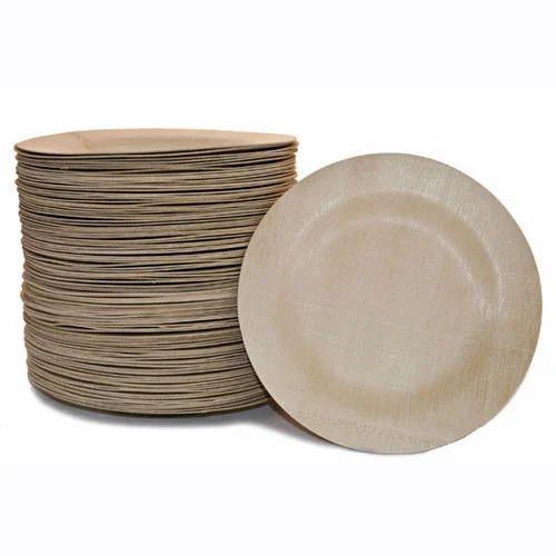 Brown Paper Plate, Kagaz Ki Plate, कागज की प्लेट - H.N ...