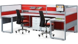 2 Way Office Workstation