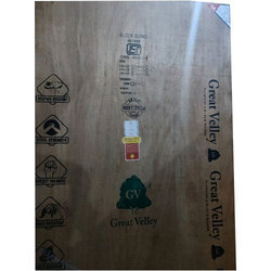 Great Valley Brown Rectangular Plywood Board