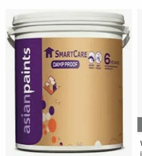 White Asian Paints Smart Care Damp Proof 20 L For Exterior Packaging Size 1 4 10 20 Rs 3850 Unit Id 22326535197