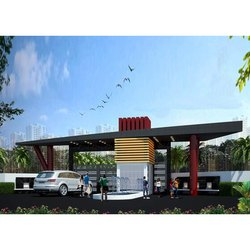 Concrete Frame Structures Commercial Projects Society Construction Service