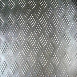 Aluminum Chequered Plate, Thickness: 0.46 Mm To 6 Mm