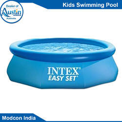 Blue FRP Kids Swimming Pool, for Amusement Park