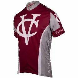 Collar Neck Half Sleeves Kids Sport T Shirts