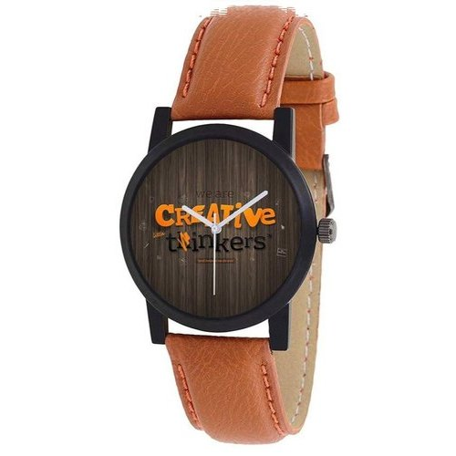 f03f98335 Women Casual Wear Mens Leather Strap Wrist Watch, Rs 60 /piece   ID ...