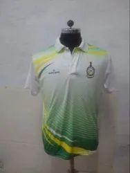 Nylon Half Sleeves Mens Sports T Shirt