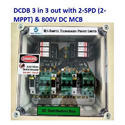DCDB 3 in 3 Out Solar DC Distribution Box