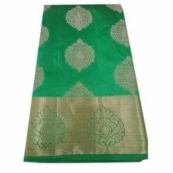 Wedding Wear Silk Saree, With Blouse Piece, 5.5 m (Separate Blouse Piece)