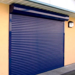 Full Height Iron Rolling Shutters