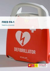 Refurbished Schiller Fred PA-1 AED System