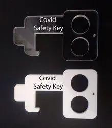 Milky white and Acrylic Safety Key