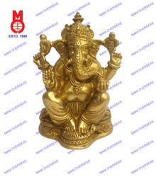 Lord Ganesh Sitting Decorative Statue