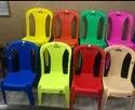 Plastic 3d Without Arm Chair, For Home, Size: Small, Medium