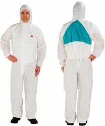 Smmms Polypropylene, White Disposable 3m 4520 Coverall Suit
