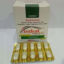 Avelcal Nutraceuticals Tablets, Packaging Size: 10 X 10 Tablets