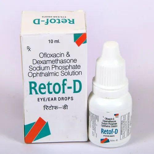 Ofloxacin 0.3% Dexamethasone 0.1% Eye Drop