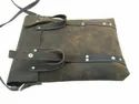 Hanco Leather Designer Vertical Bag