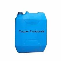 Liquid Copper Fluoborate, Packaging Type: Hdpe Jerry Can, Packaging Size: 40 Kg