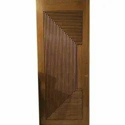 Interior Matte Rectangular Wooden Door, For Office